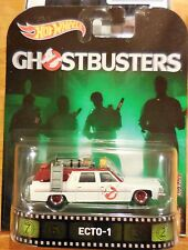 2017 Retro Hot Wheels * Ecto-1 Ghostbusters * Retro Case A Combine Shipping