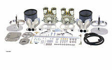 Dual 44mm Carburetor kit EMPI HPMX. VW, Volkswagen Bug, Bus and Ghia Weber IDF
