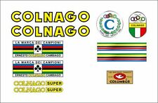 COLNAGO SUPER 1968 FRAME DECAL SET