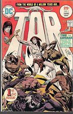 "TOR THE CAVEMAN #1 DC 06/75 NEW ORIGIN ""A MILLION YEARS AGO"" JOE KUBERT ART FN+"