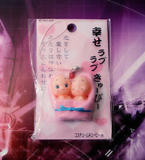NEVER ENDING LOVE KEWPIE FIGURE PHONE STRAP JAPAN DOLL BRIDE WEDDING GIFT 4ever