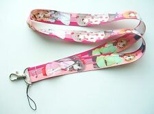 TV Animation K-On & Friends Characters Fabric Keychain Lanyard