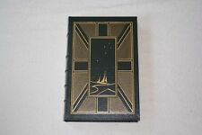 Easton Press GIPSY MOTH CIRCLES THE WORLD Chichester 1989 LEATHER Nautical Libry