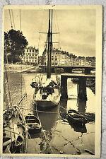 """CPA """" BAYONNE - Les Quais de la Nive et le Pont Mayou"""