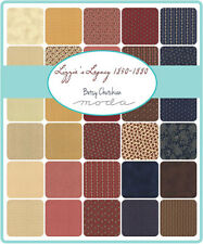 """Lizzies Legacy 1850 - 1880 Moda Quilt Fabric Charm Pack 42 ~ 5"""""""
