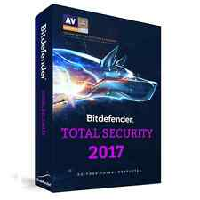 Bitdefender Total Security 2017 for 5 PCs for 1 Year