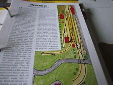 Modellbahn Schritt für Schritt 1 Anlagenidee Neuhausen Kopfbahnhof