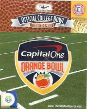 2016 Capital One Orange Bowl Patch Michigan Florida State Official Jersey Logo