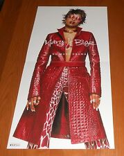 """Mary J. Blige """"No More Drama"""" Poster 2-Sided Flat Square 2002 Promo 12x24 RARE"""