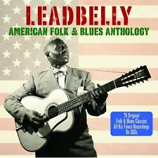 LEADBELLY - AMERICAN FOLK & BLUES ANTHOLOGY - 75 ORIGINALS (NEW SEALED 3CD SET)