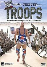 DVD : WWE ~ Holiday Tribute to the Troops ( 2-Disc Set 2003-2004 )