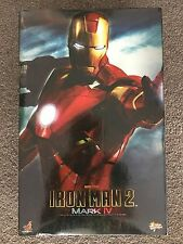 Mint Hot Toys 1/6 SCALE Figure IRON MAN 2 MARK IV MMS 123 (IN STOCK)