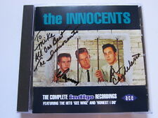 INNOCENTS Complete Indigo Recordings Ace Cd AUTOGRAPHED