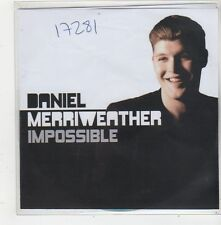 (FQ59) Daniel Merriweather, Impossible - DJ CD