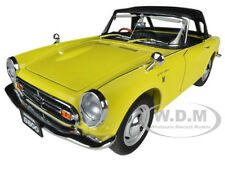 1966 HONDA S800 ROADSTER YELLOW 1/18 DIECAST CAR MODEL BY AUTOART 73277