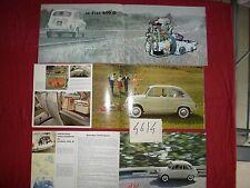 N°4614 / FIAT :  catalogue 600 D  et multipla  texte français  1961