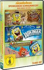 SpongeBob Schwammkopf - Reise durch die Zeit [3 DVDs](NEU&OVP)