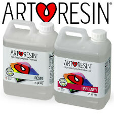 ArtResin® Clear Epoxy Coating Art Resin for Artwork and Photos 4l Studio Kit