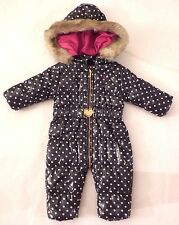 New JUICY COUTURE 3-6 Month Baby Waterproof Bunting Snugler Snowsuit $178