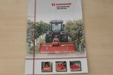 162328) Howard Rotavator 200 300 400 Prospekt 10/2009