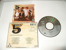 FIVESTAR - LUXURY OF LIFE -10 TRACKS-1985 -CD MADE IN JAPAN - FREE FASTPOST