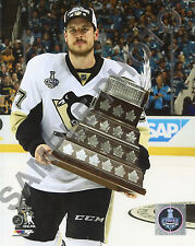 Sydney Crosby Pittsburgh Penguins 2016 Conn Smythe MVP Champion 8x10 Photo
