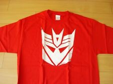 Funny T-shirt Transformer Logo Red Color (Size XL)