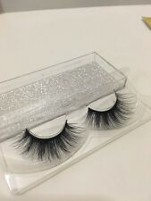 100% Mink False Eyelashes Like Lilly Lashes Huda Eudora Velour Unicorn