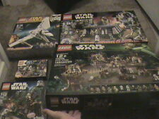 HUGE SEALED ENDOR LEGO LOT OF 5 10236 EWOK VILLAGE 8038 THE BATTLE 75094 7956
