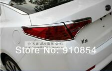 Chrome Rear Tail Light Lamp Cover Trim For KIA K5 Optima 2011 2012 2013