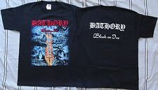 BATHORY ,,BLOOD ON ICE,, OFFICIAL T-SHIRT LEGEND OF BLACK METAL Quorthon Seth