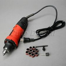 400W Electric Die Grinder Drill Variable Speed Dremel Rotary Tool Sanding Bands