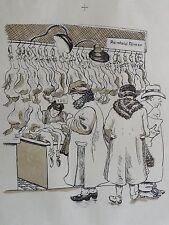 Margarethe máximo firmado-mostrarían para 1930: los clientes al aves de corral-Carnicero