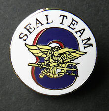SEAL TEAM EIGHT 8 US NAVY USN SEALS LAPEL PIN BADGE 7/8 INCH