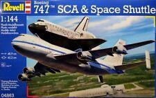 REVELL 1:144 KIT AEREO DA MONTARE BOEING 747 SCA & SPACE SHUTTLE  ART 04863