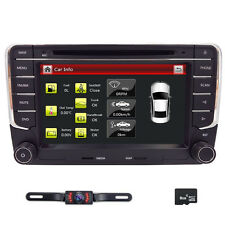 "VW Golf MK5 7"" Car Radio Stereo DVD Player Bluetooth iPod USB GPS Navi+CAM+MAP"