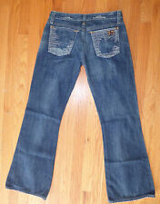 ** JOES ** Vintage Series 1971 Hippie Boot Cut Med Blue Jeans 27 x 31 Leg