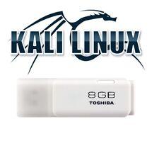Kali Linux 2016.2 TOSIBA 8GB 3.0 USB Bootable Live Linux Penetration Testing