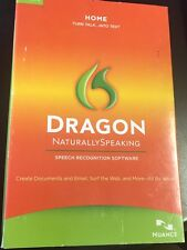 Nuance Dragon Naturally Speaking Home version 11