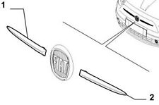 Fiat 500 Front Grille Chrome Finisher (R/H Side)