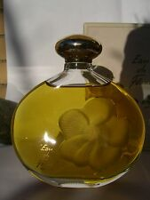 EAU DE FLEUR  NINA RICCI E.d.TOILETTE 200 ml LALIQUE BOTTLE ORIGINAL VINTAGE