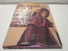 1973 THE COLLECTORS BOOK OF DOLLS & DOLLS HOUSES BY ROGER BAKER HARDCOVER BOOK
