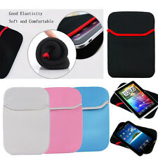 Soft Sleeve Tablet PC Case Pouch Bag For 10.1 Samsung Galaxy Note Tab iPad Black