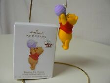 Hallmark Ornament 2011 HOPING FOR HUNNY NEW Winnie the Pooh Collection Food Bee