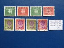 BRD 1963/1964, Europa, Michel 406, 407 - 445, 446, ** e o