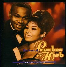 Love Is Strange-Best Of - Peaches & Herb (2013, CD NEUF)
