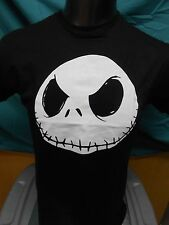 Mens Licensed Nightmare Before Christmas Jack Skellington Big Face Shirt New XL