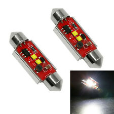 2X Canbus Interior Dome C5W 36mm Led Festoon Auto Led License Plate Light White