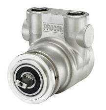 NEW STAINLESS STEEL ROTARY VANE  PUMP HEAD ,