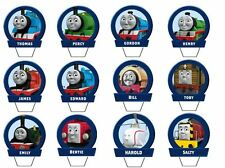 24 THOMAS THE TANK ENGINE EDIBLE CUPCAKE/FAIRY CAKE TOPPERS **STAND UPS**